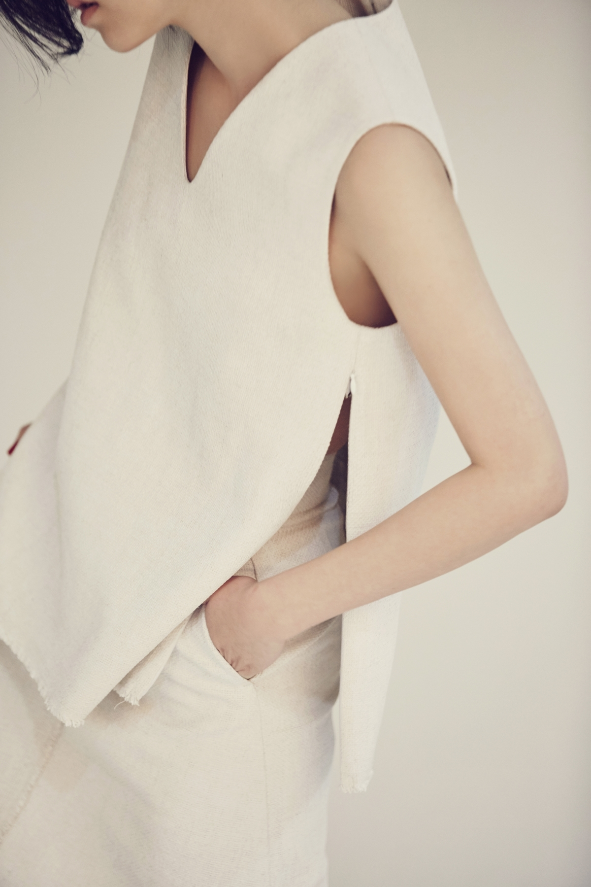 [OFF 50%] Pearl White Pigment Top